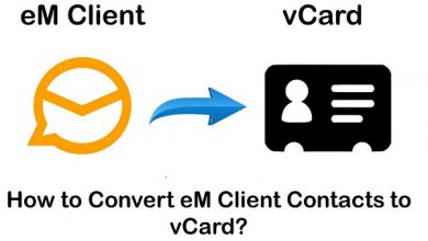Photo of Migrate from eM Client to vCard Professionally-Download Now