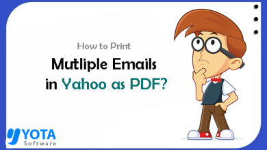 Photo of How to Print Multiple Emails in Yahoo as PDF?