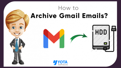 Photo of How to Archive Gmail Emails to Hard Drive with all Properties?