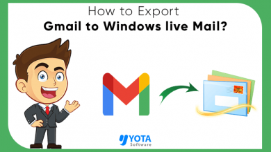 Photo of How to Export Gmail to Windows Live Mail with Emails and Attachments?